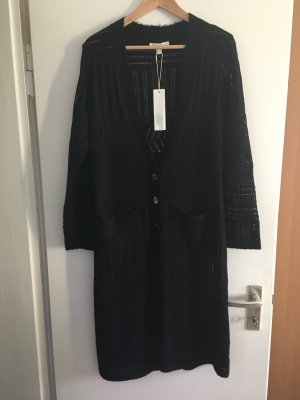 Esprit Gebreid vest zwart Gemengd weefsel