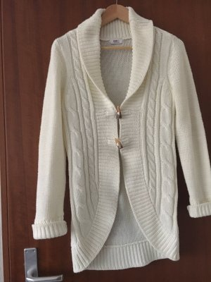 FlashLights Gebreide cardigan wit