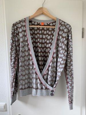 Hugo Boss Long Knitted Vest grey