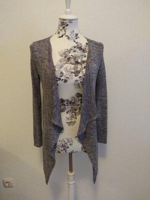 Atmosphere Long Knitted Vest dark grey-grey