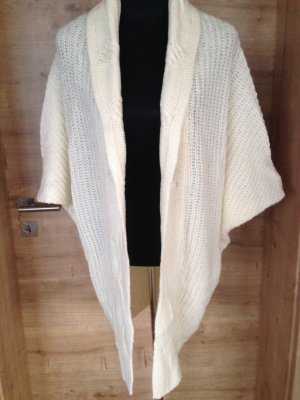 Coarse Knitted Jacket white