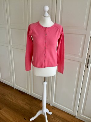 Zara Cardigan rouge clair-rouge framboise