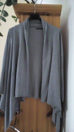 Cardigan Zara Grau 36
