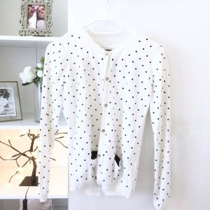 Cardigan Zara schwarz weiß