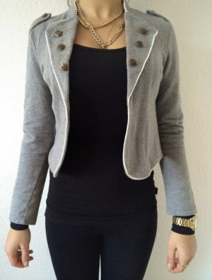 Pimkie Cardigan all'uncinetto grigio