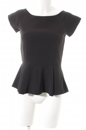 Care of You Short Sleeved Blouse black