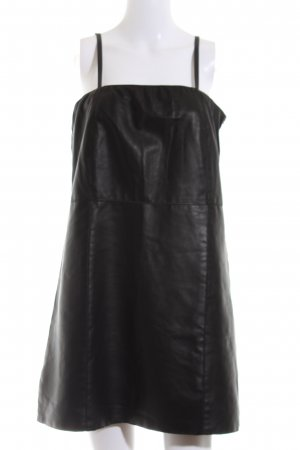 Carell Thomas Leather Dress black casual look