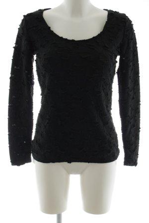 Carell Thomas Crewneck Sweater black casual look