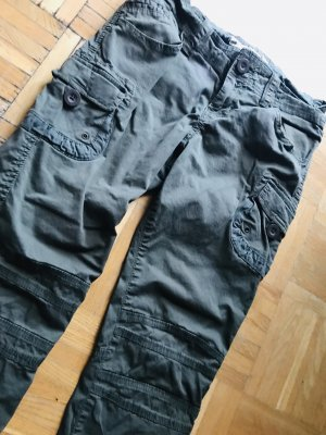 H&M L.O.G.G. Pantalone cargo cachi