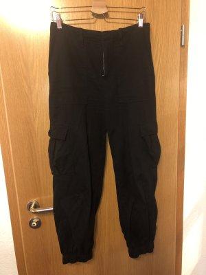 Urban Outfitters Pantalone cargo nero