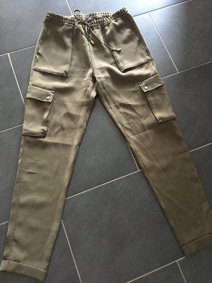 H&M Pantalone cargo cachi