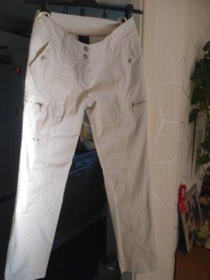 BC Pantalon cargo crème coton