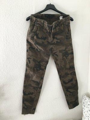 Cargo Khaki Camouflage Skinny Jeans