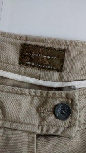 Cargo Rock knielang khaki beige Gr. W 30 38 sand Calvin Klein Baumwolle