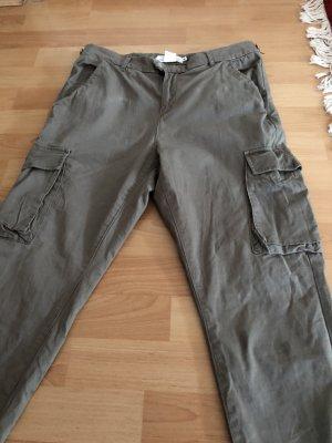 H&M Pantalone cargo multicolore