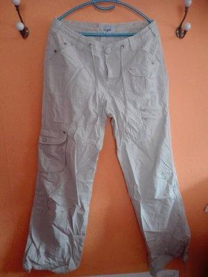 TCM Pantalone cargo beige chiaro Cotone