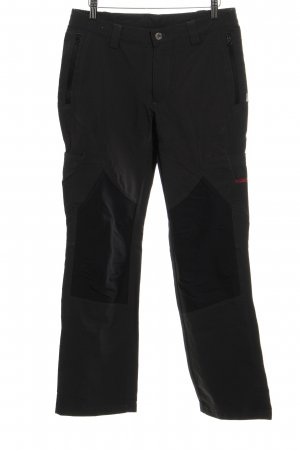 Pantalone cargo grigio scuro-nero stile atletico
