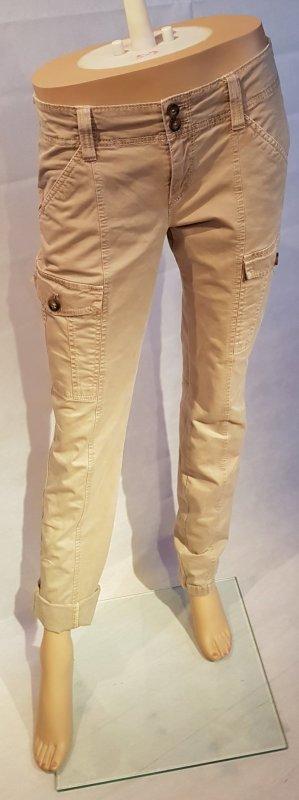 esprit collection Pantalone cargo sabbia