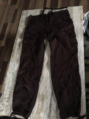 Pantalone cargo marrone scuro