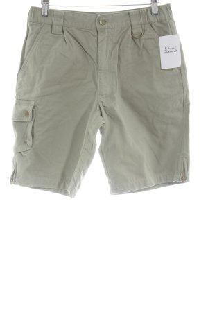 Pantalone cargo grigio-verde stile safari