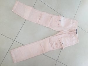 Cargohose, Hose in apricot made in Italy Gr. 36 34 S XS