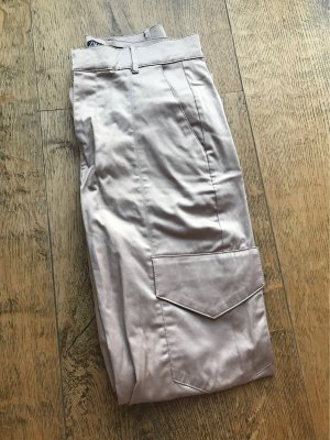 Zara Pantalone cargo color cammello-beige