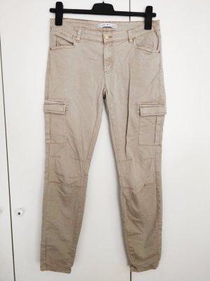 Amisu Pantalone cargo multicolore Cotone