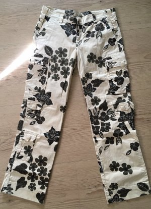 Cargo Pants black-cream