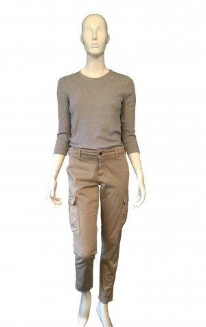 Adriano Goldschmied Cargo Pants khaki cotton
