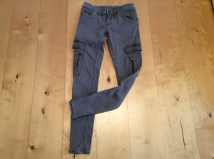 DRYKORN FOR BEAUTIFUL PEOPLE Cargo Pants grey cotton