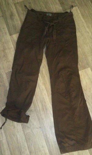 Mexx Pantalone cargo marrone Cotone