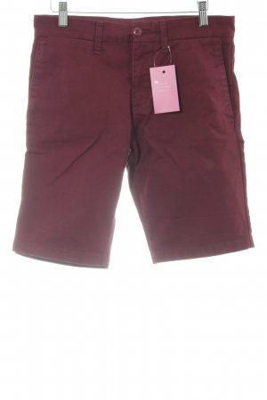 Carhartt Bermuda bordeauxrot Casual-Look