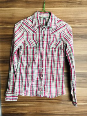 Carhartt Long Sleeve Shirt red-green