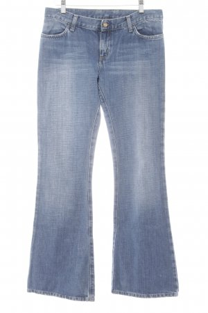 Carhartt Boot Cut Jeans blau Casual-Look