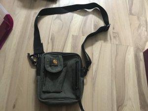 Carhartt essential bag small schwarz grau gebraucht
