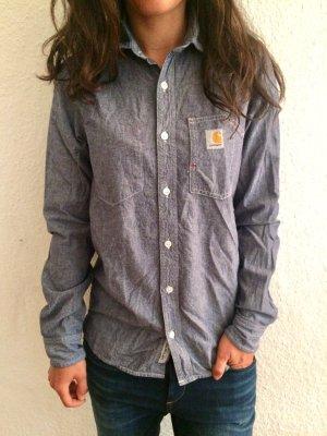 Carhartt Denim Shirt grey