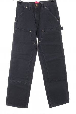 Carhartt High Waist Jeans black casual look