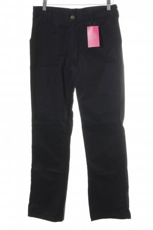 Carhartt High Waist Jeans schwarz Casual-Look