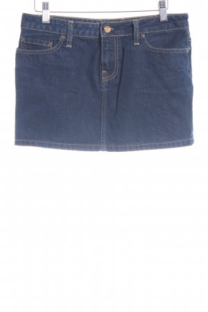 Carhartt Denim Skirt dark blue casual look