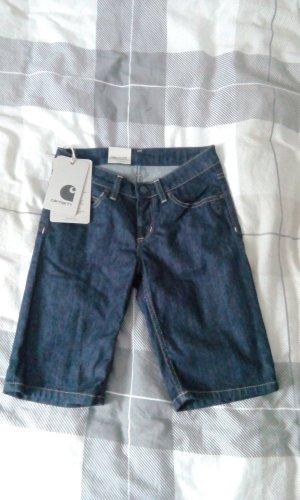 Carhartt Short en jean bleu foncé