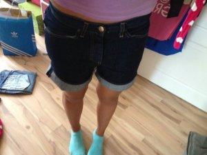 Carhartt Jeansshorts Boyfriend jeans kurz W`oversized leisure bermuda gr. xs