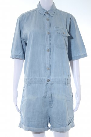 Carhartt Jumpsuit himmelblau Washed-Optik