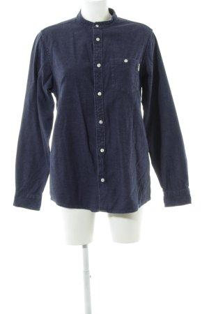 Carhartt Langarmhemd blau Karomuster Casual-Look