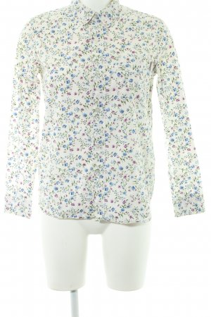 Carhartt Langarmhemd Blumenmuster 90ies-Stil