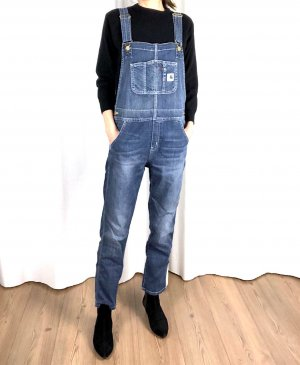 Carhartt Latzhose Jeans Relaxed Fit Skater Oversize Cosy