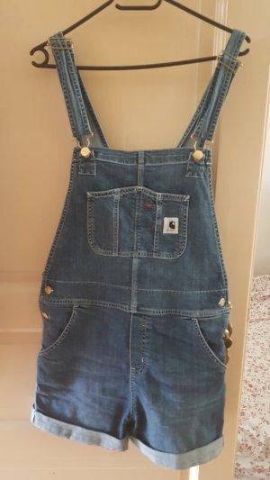 Carhartt Pantaloncino di jeans blu scuro