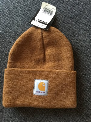 Carhartt Mütze braun neu mit Etikett