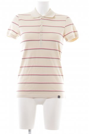 Carhartt Polo Shirt striped pattern casual look