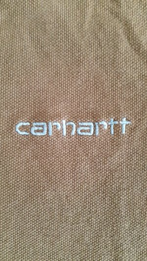 Carhartt Polo marrone-celeste