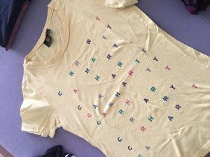 Carhartt T-shirt jaune primevère